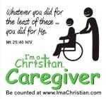 I'm a Christian Caregiver