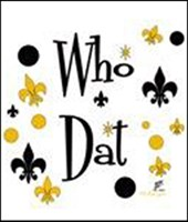Who Dats' Fun!