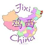 Jixi Color Map, China