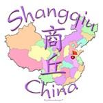 Shangqiu Color Map, China