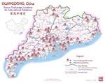 SHAANXI, China Map