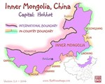 Inner Mongolia, China mini Map