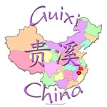 Guixi Color Map, China