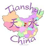 Tianshui China Color Map