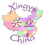 Xingye China Color Map