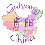 Guiyang China Color Map