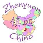 Zhenyuan China Color Map