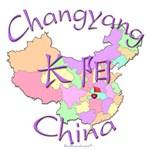 Changyang Color Map, China