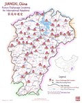 JIANGXI, China Map