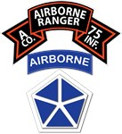 A Co 75th Ranger - V Corps (Airborne)