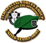 5th SFG - Beret Dagger DUI