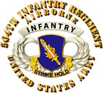 Army - 504th Infantry Regiment