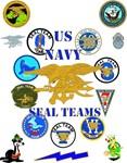 Navy - SOF - Navy Seal Teams Poster