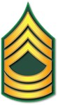 Army - Master Sergeant E-8 - Traditional
