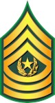 Army - Command Sergeant Major - Traditional