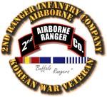 2nd Ranger Infantry Co w Korea Svc