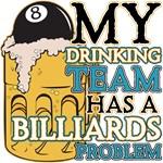 Billiards Drinking Team