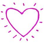 Pink Chrome Heart