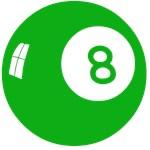 Green 8 Ball