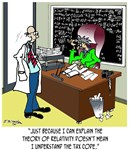 Theory of Relativity & The Tax Code