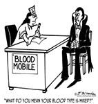 Vampire Has Mixed Blood Type