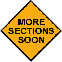 <P>New Sections Are Planned