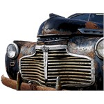 Vintage Rusted Car T-shirt & Gifts