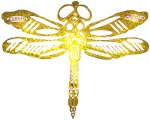 DRAGON FLY GOLD