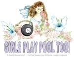 Wildflower Fairy Girls Play Pool Too