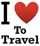 I Love To Travel Light Tee