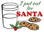 Cookies and Milk Christmas Humor