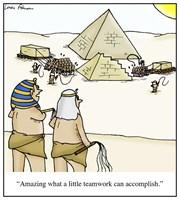 Pyramid Teamwork