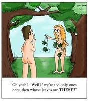 Eve finds a Leaf-Bra