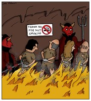 No Smoking in Hell