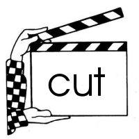 cut (FILM CLAPPER)