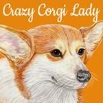 Crazy Corgi Lady