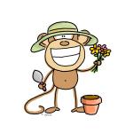 Gardening Monkey