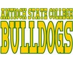 Antioch State College Bulldogs Mascot