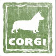 Rustic Corgi Design
