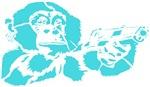 Blue chimp