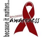 Awareness 1 Amyloidosis Tees & Merchandise