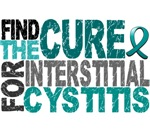 Find the Cure Interstitial Cystitis T-Shirts