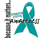 Awareness 1 Interstitial Cystitis Tees and Gifts