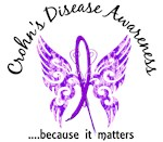 Crohn's Disease Butterfly 6.1 Shirts