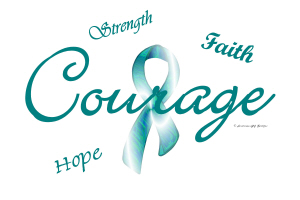 Courage, Hope, Strength, Faith 1
