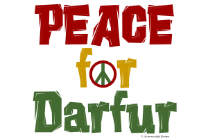 Peace For Darfur 1 (SEVERAL COLORS AVAILABLE)