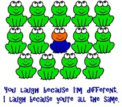 Down Syndrome Awareness Frogs
