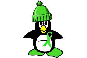 Winter Penguin 1 Non-Hodgkins Lymphoma Merchandise