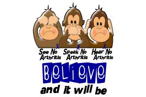 See Speak Hear No Arthritis 3