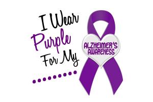 I Wear Purple For My.......18